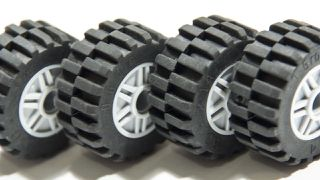 LEGO Tyres as seen on LEGO Masters 2020.