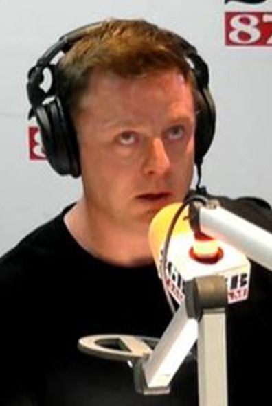Ben crying on air Lucas death