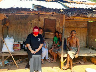 Let's Help Bali has also built homes and schools in underprivileged communities