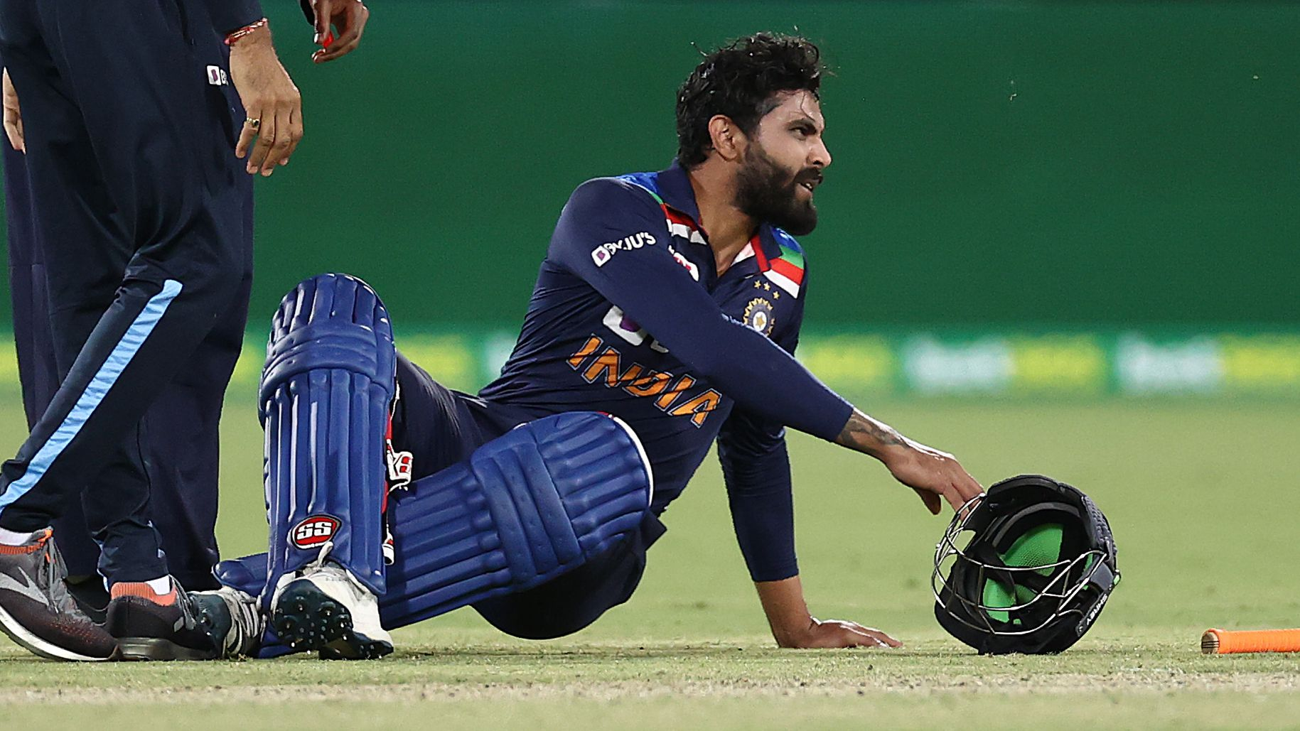 India's Ravi Jadeja out of T20 series as Nathan Lyon comes in for Australia