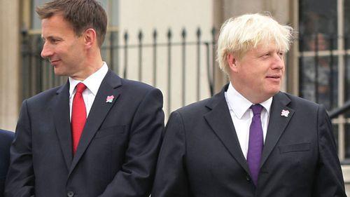 Boris Johnson Jeremy Hunt Brexit UK leadership