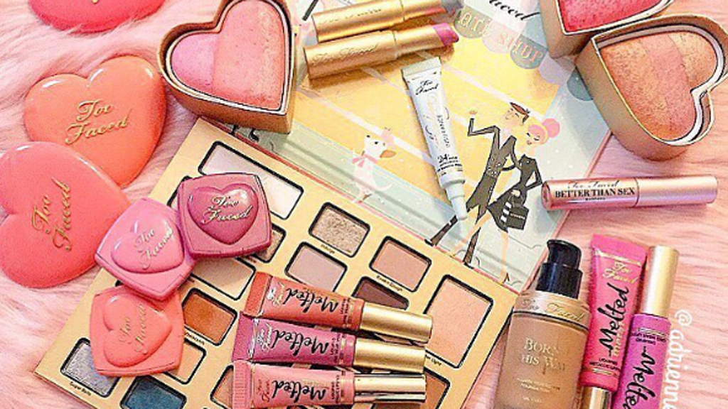 Pretty, pink and perfect - Too Faced beauty is now part of the Estée Lauder family. Image: Instagram/@toofaced