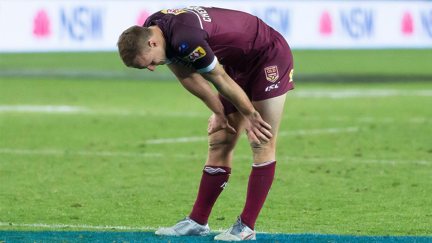 Daly Cherry-Evans dejected after losing the Origin decider