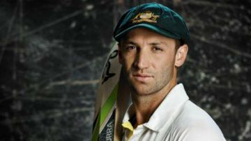 Phillip Hughes. (9NEWS)