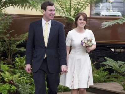 Jack Brooksbank and Princess Eugenie, 2016