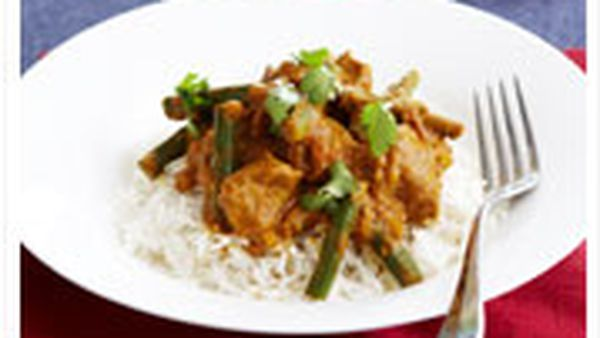 Indian lights: Chicken curry