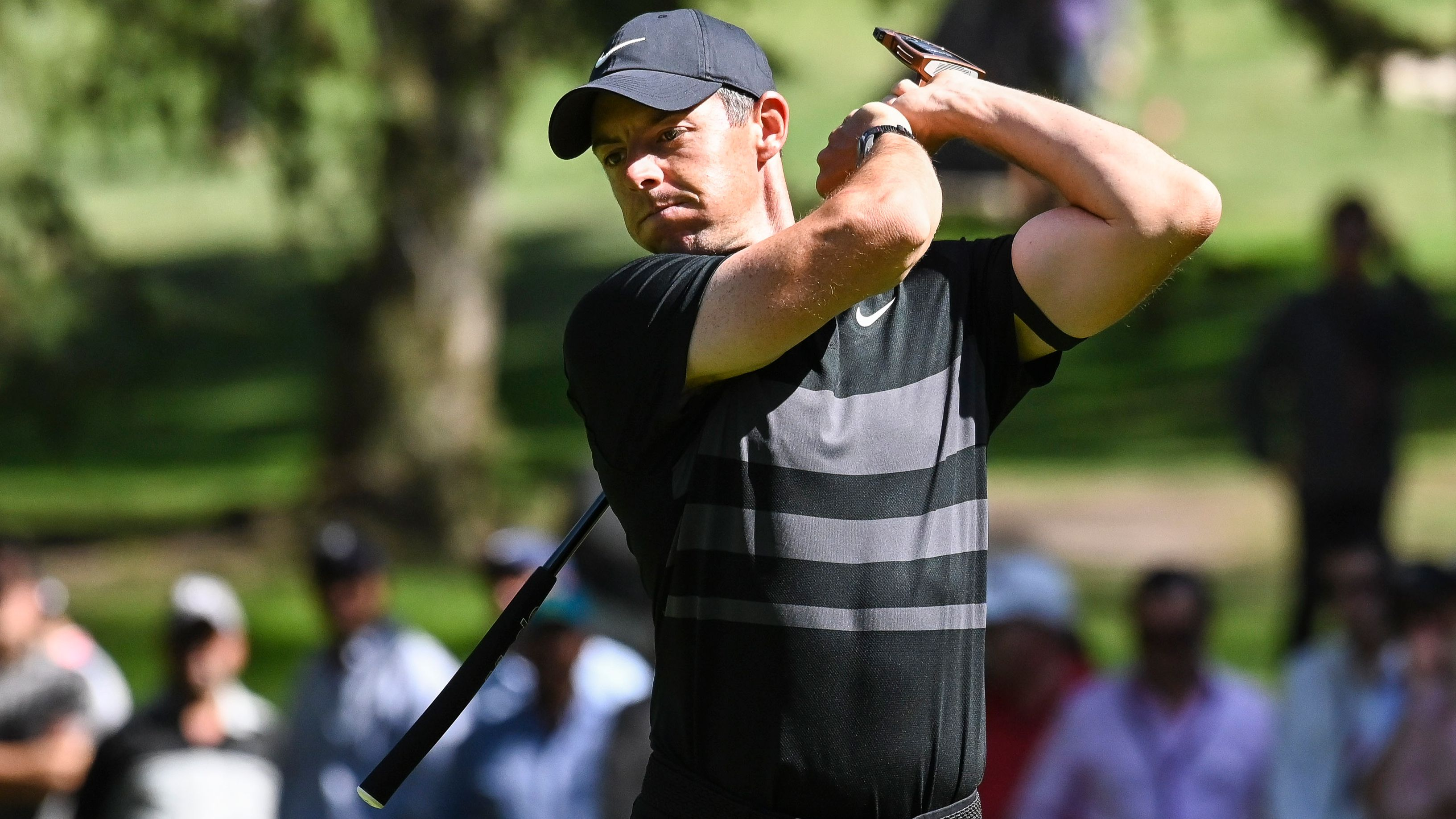 Rory McIlroy leads the WGC-Mexico event.