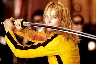 """Don't mess with a woman on a mission! Revenge has never been so sweet ... or gory. Dubbed """"the deadliest woman in the world"""", this expert fighter makes heads roll off her sword when she's not punching her way out of a coffin when buried alive, or using martial arts pressure point techniques to get her way. Okay, so we don't condonce her violence in real life, but she's a totally kick-ass movie heroine."""