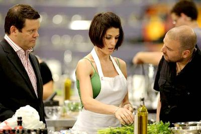 """A spate of Facebook hate groups popped up during Joanne's stint on Masterchef Australia, some of them calling for her death. """"Everyone's entitled to their own opinion,"""" Joanne told the Herald Sun, though she admitted the online comments were """"distressing""""."""
