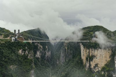 <strong>The Zhangjiajie Canyon Bridge, China</strong>