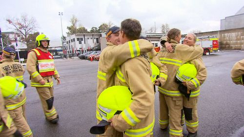 24 firefighters begin work next week after completing their training.