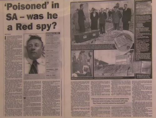 How the media covered the Somerton Man mystery.
