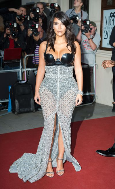 Kim Kardashian in Ralph & Russo Couture at the 2014 GQ Men of the Year Awards in London, May, 2014