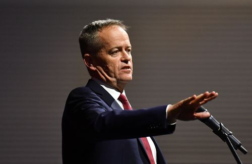 Labor leader Bill Shorten is facing increasing pressure with internal polling putting the Liberals ahead in Braddon. Picture: AAP