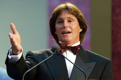 Spotted! A totally smoothed-out Bruce Jenner...