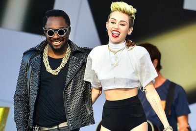 Miley's 'Fall Down' collaborator Will.i.am told TheFIX that she's the next Bjork! He gave praise to her upcoming album <i>Bangerz</i>: 'From what I heard, it was freaking bananas. Banana peels, you're slipping on!'<br/><br/>Image: Splash