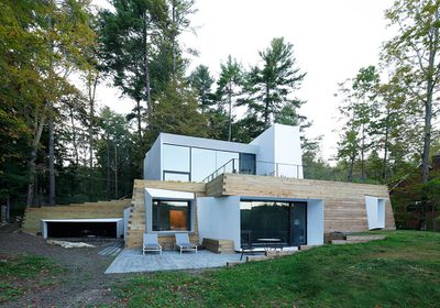 Lakehouse byTaylor and Miller Architecture and Design