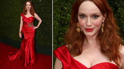 Mad Men star Christina Hendricks. (Getty)