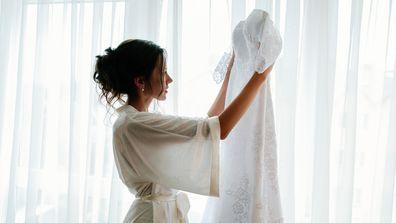 'What can I wear under my wedding dress?'