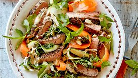 Beef sirloin superfood salad