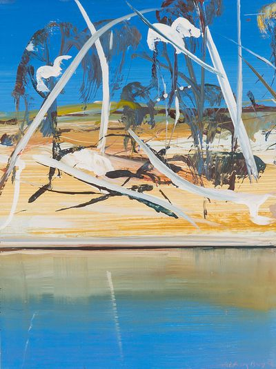 <strong>Arthur Boyd oil painting Shoalhaven Riverbank</strong>