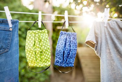 Hanging up the washing: 68 calories an hour
