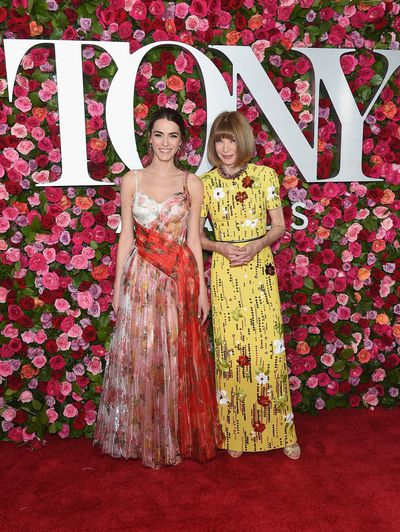 Vogue Editor in Chief Anna Wintour and daughterBee Shaffer