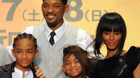Willow Smith, Jada Pinkett Smith, Will Smith, Jaden Smith