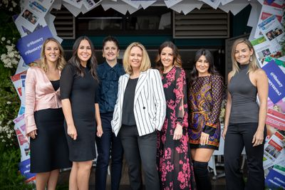 Guests at the '9Honey Turns Two' celebration held in Sydney, October 12, 2018.
