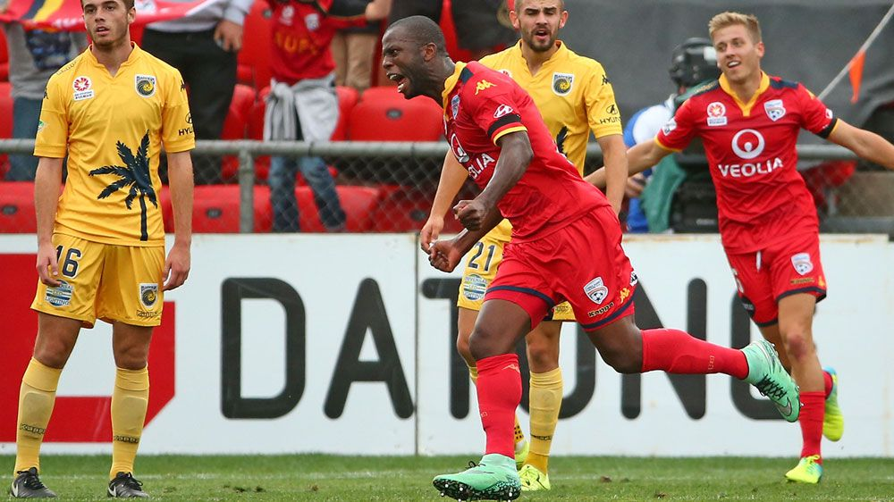 Adelaide down Central Coast in A-League