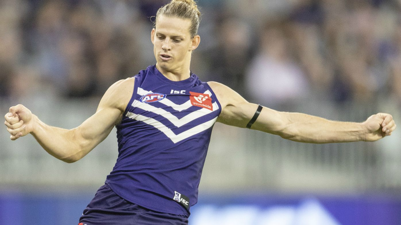 Fremantle captain Nathan Fyfe
