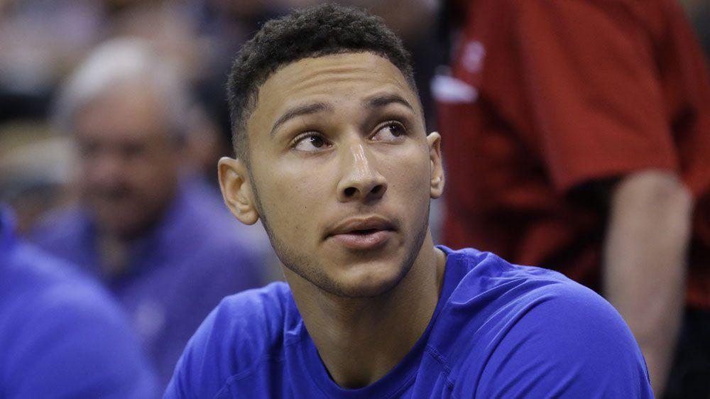 Philadelphia 76ers' Ben Simmons (AAP)