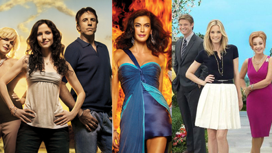 The cast of Weeds, Desperate Housewives and GCB.