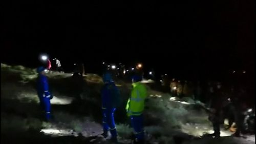 More than 700 rescuers took part in the operation, made difficult by low night-time temperatures and the area's complex terrain and topography.