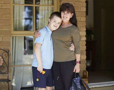 Darcy and Julie Fisher Down's Syndrome carers week
