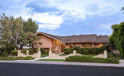 The Studio City home made famous by the Brady Bunch is on the market for almost $2 million. Picture: AAP