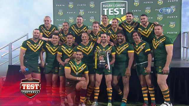 Kangaroos make short of Kiwis