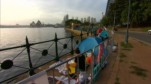 The majority of official vantage points around Sydney Harbour are alcohol free.