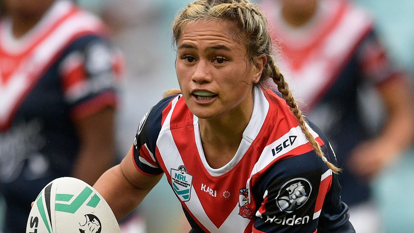 Nita Maynard in action for the Roosters