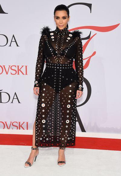 <p>Kim Kardashian in&nbsp;Proenza Schouler</p>