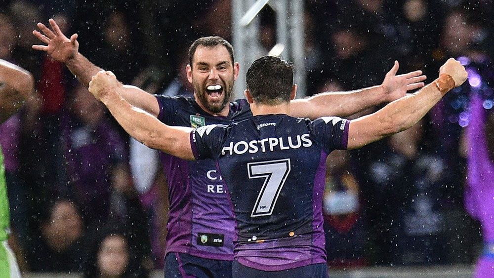 NRL stars favour Storm in grand final
