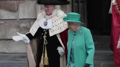 Queen expresses concern over security shake up