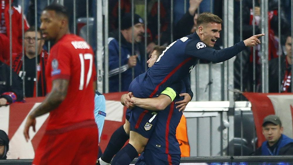 Atletico pip Bayern to reach ECL final