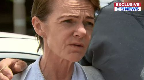 Kellie McElligott, 48, is suffering from terminal cancer. (9NEWS)
