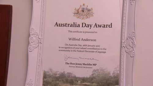 WIlfred Anderson has been recognised for his work with disabled children.