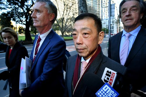 Mr Yee told the inquiry he and nine other apparent donors wrote the $900 cheques in the knowledge that soon afterwards they would be reimbursed in cash via backbencher Ernest Wong (Pictured).