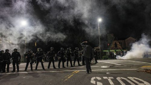 Anti-police violence protests turn violent in California