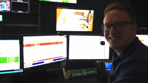 Working as a producer at 9NEWS Melbourne.