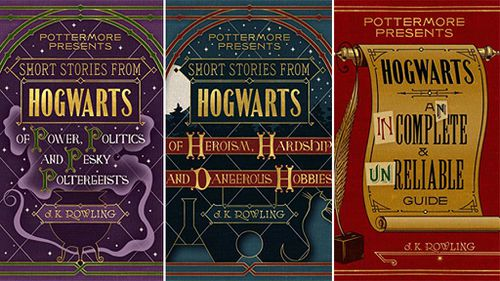 J.K. Rowling to release three new Harry Potter books next month