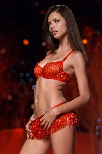 Adriana Lima at the 2001 Victoria's Secret Show